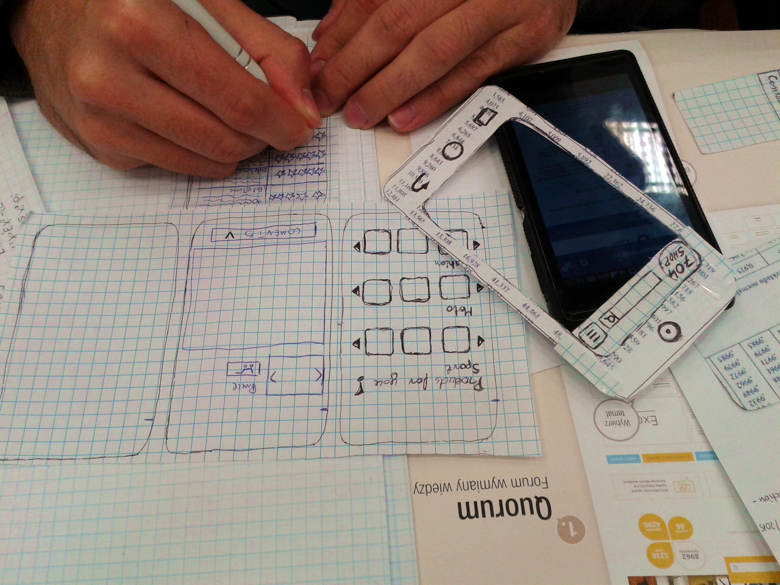 Human-Computer Interaction: 18 [ex] Paper prototyping