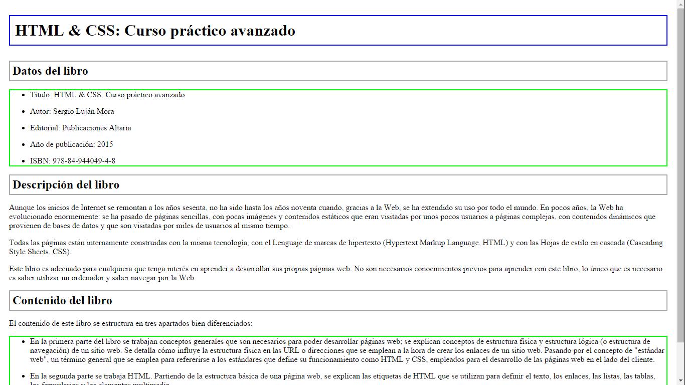 Ejercicios Modelo Caja 2 Html Css Curso Práctico Avanzado